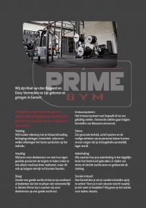 Flyers Prime Gym versie 111