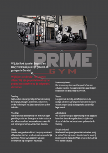 Flyers Prime Gym versie 17